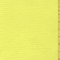 Neon Yellow Fleece Lined Scuba Knit