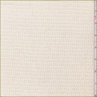 Buttercream Textured Pointelle Sweater Knit