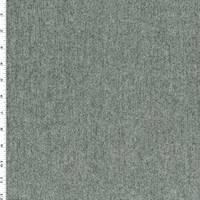 *1 YD PC--Black/Gray Wool Blend Tweed Texture Jacketing