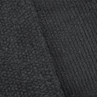 *1 YD PC--Black Wool Blend Chunky Knit