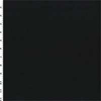 *2 1/8 YD PC--Black Wool Twill