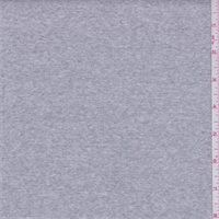 *7/8 YD PC--Light Heather Grey Thermal Knit
