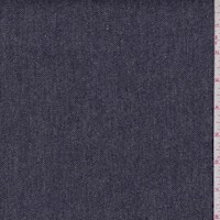 *1 YD PC--Navy Herringbone Flannel Suiting