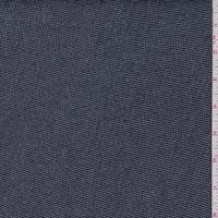 *7/8 YD PC--Navy Denim Look French Terry Knit