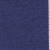 *2 7/8 YD PC--Violet Blue Shimmer Crinkled Crepe