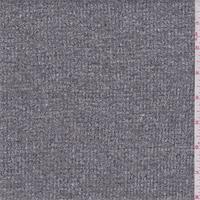 *2 5/8 YD PC--Black Speck Sweater Knit