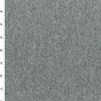 *4 3/8 YD PC--Rainy Day Gray Texture Melton Wool Jacketing