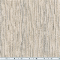 *2 YD PC--Light Stone Ivory Ripple Faux Velvet Decorating Fabric