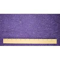 *1 3/8 YD PC--Purple Texture Boucle Dobby Jacketing