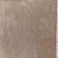 Beige/Gold Brushed Faux Fur/Suede