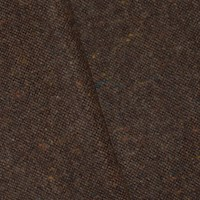 *1 1/4 YD PC -- Soil Brown/Multi Wool Blend Textured Tweed-Like Jacketing