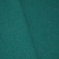 *5 3/4 YD PC --  Jade Teal Wool Blend Textured Twill Woven Jacketing