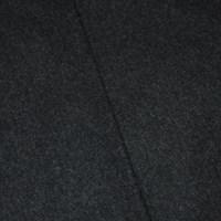 *5 1/4 YD PC -- Dark Gray Wool Blend Brushed Texture Jacketing