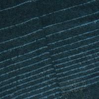 *5 5/8 YD PC -- Ocean Green/Multi Stripe Wool Blend Semi-Opaque Sweater Knit