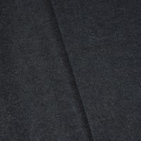 *4 7/8 YD PC -- Dusty Deep Navy Gray Wool Blend Textured Woven Jacketing
