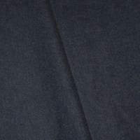 *4 1/4 YD PC -- Dusty Navy Blue Wool Blend Brushed Textured Twill Jacketing
