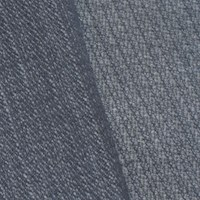 *5 1/4 YD PC -- Gray/White Wool Blend Textured Stripe Woven Jacketing