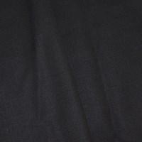 *7 1/4 YD PC -- Deep Navy Blue Semi-Opaque Poly/Wool Blend Shirting