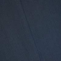 *8 1/4 YD PC -- Dusty Navy Blue Wool Blend Textured Woven Suiting