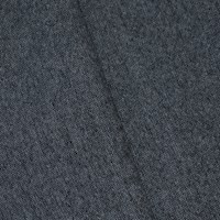*8 7/8 YD PC -- Gray/White Wool Blend Tweed-Like Woven Jacketing