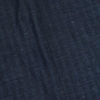 *7 1/4 YD PC -- Navy/Black Wool Blend Herringbone Stripe Jacketing