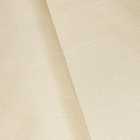 *5 3/4  YD PC -- Pearl Ivory Poly Shantung Home Decorating Fabric
