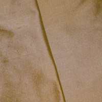 *2 5/8 YD  -- Antique Beige Silk Dupioni Shantung Home Decorating Fabric