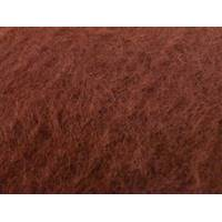 *2 1/8 YD PC--Ginger Brown Brushed Texture Wool Blend Sweater Knit