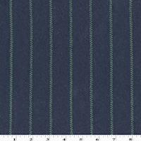 *2 5/8 YD PC--Blue/Green Wool Blend Stripe Double Knit Jacketing