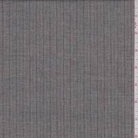 *3 YD PC--Heather Taupe Pinstripe Suiting