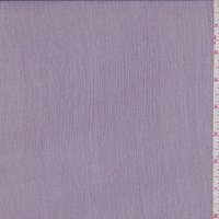 Dark Lilac Crinkled Silk Chiffon