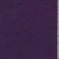 Heather Magenta Purple Mini Rib Knit