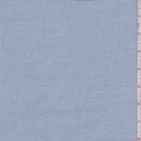Cloudy Blue Cotton Oxford Shirting