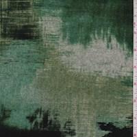 Forest/Jade/Grey Brush Stroke Sweater Knit