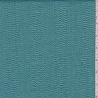 Turquoise/Teal Herringbone Stripe Rayon Blend Suiting