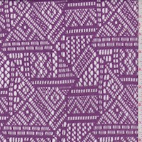 Lilac Geo Lace