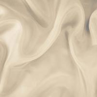 *3 3/8 YD PC -- Cream Pearl White Silk Lining