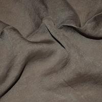 *5 3/4 YD PC -- Thunder Night Gray Silk Lining