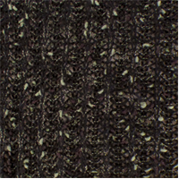 *1 YD PC--Black/Brown/Sage Wool Blend Sweater Rib Knit