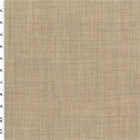 *3/4 YD PC--Sand Beige Tropical Wool Woven