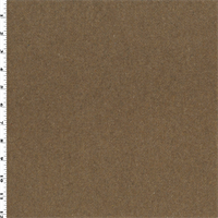 *1 1/2 YD PC--Sand Beige Wool Blend Boiled Melton Coating