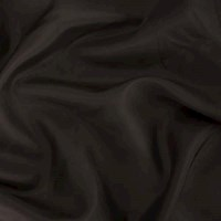 *2 YD PC --  Dark Cacao Brown Silk Charmeuse