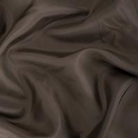 *2 YD PC --  Dark Cacao Brown Silk Lining