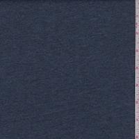 Heather Blue Cotton Interlock  Knit