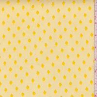 Sunflower Yellow Dot Tulle