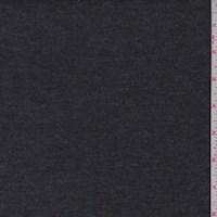 Heather Charcoal Grey Rayon Jersey Knit
