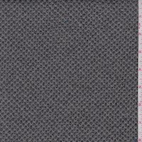Nickel Grey Lattice Sweater Knit