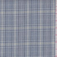 Navy Glen Plaid Cotton