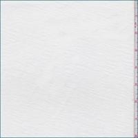 White Scuba Knit