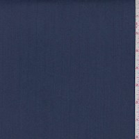 *4 YD PC--Navy Blue Polyester Twill Suiting